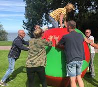Groepsactiviteit in Haarlem