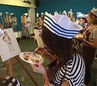 workshop naaktmodel schilderen Haarlem