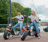 E-scooter huren in Haarlem