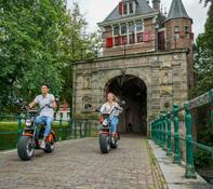 E-chopper rijden Haarlem